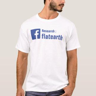 Research Flat Earth T-Shirt