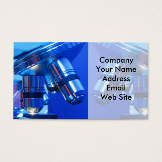 Research Microscope Business Card