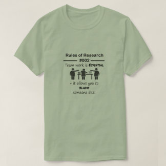 Research Rules 002 T-Shirt