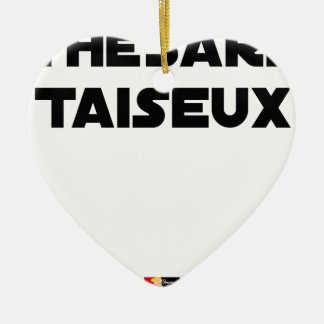 RESEARCH STUDENT TAISEUX - Word games - François Ceramic Ornament