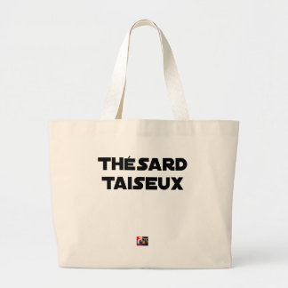 RESEARCH STUDENT TAISEUX - Word games - François Large Tote Bag