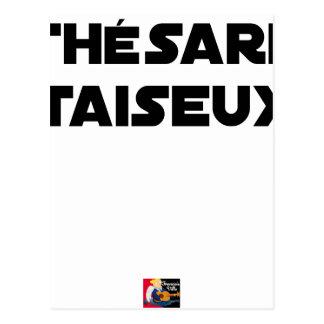 RESEARCH STUDENT TAISEUX - Word games - François Postcard