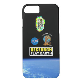 #RESEARCHFLATEARTH Phone Case
