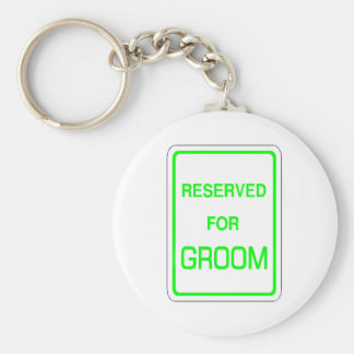Reserved For Groom Keychain