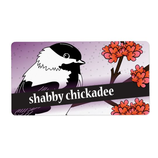 Reserved for Shabby Chickadee Etsy Seller Shipping Label