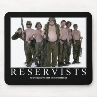 Reservists Mousepad
