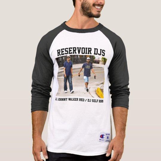 """""""Reservoir DJs"""" Raglan Tee Shirt"""