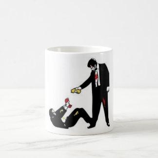 Reservoir Dogs cartoon combat Mug