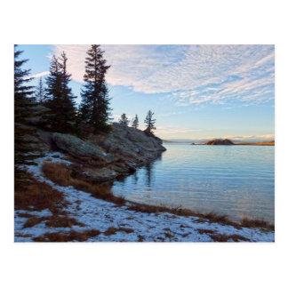 Reservoir - Eleven Mile State Park Postcard