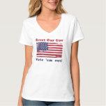 Reset Our Gov plus Vote 'em Out! T Shirt