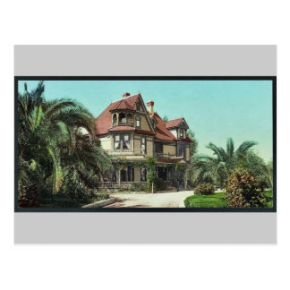 Residence of Mr. A. K. Smiley, Redlands classic Ph Postcard
