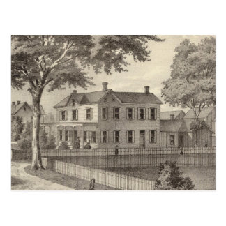 Residence of Osborne Curtis, Squan Village, NJ Postcard