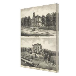 Residences in Kansas 2 Gallery Wrap Canvas