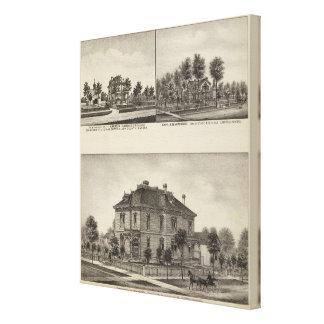 Residences in Kansas Gallery Wrap Canvas