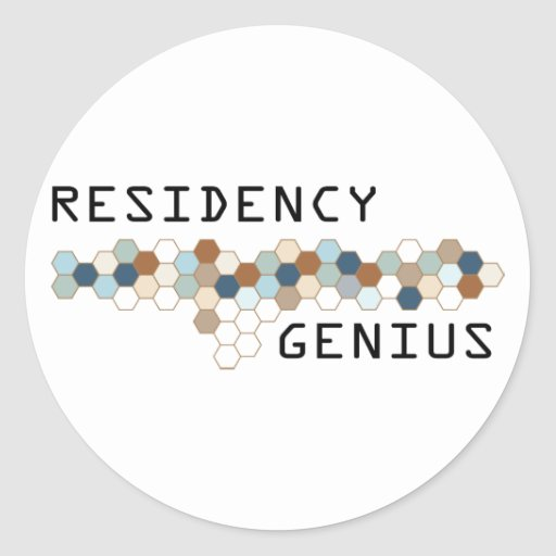 Residency Genius Stickers