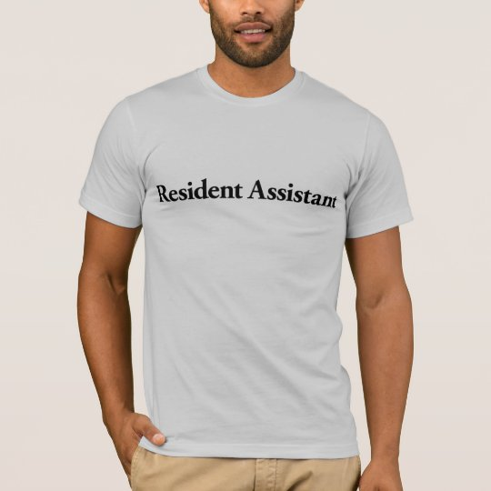 Resident Assistant T-Shirt