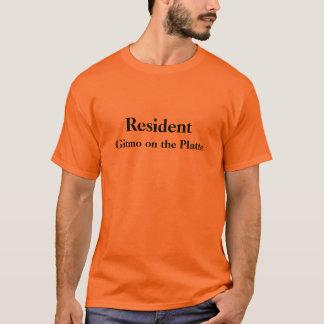Resident Gitmo on the Platte - Customized T-Shirt