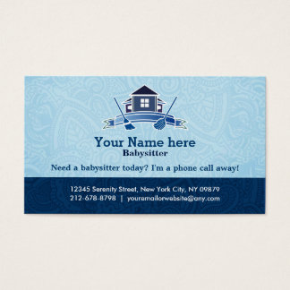 Residential cleaning business cards