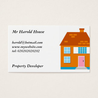 Residential Homes, Business Card