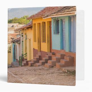 Residential houses, Trinidad, Cuba 3 Ring Binders