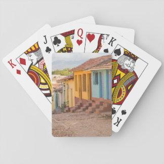 Residential houses, Trinidad, Cuba Poker Deck