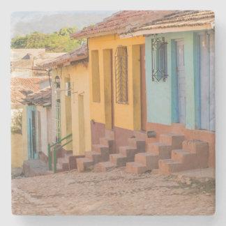 Residential houses, Trinidad, Cuba Stone Coaster