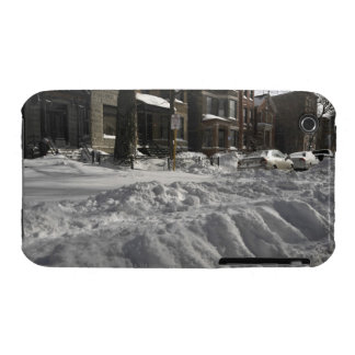 Residential urban (city) street on sunny winter 2 Case-Mate iPhone 3 case