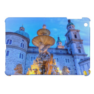 Residenzplatz in Salzburg, Austria Case For The iPad Mini