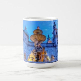 Residenzplatz in Salzburg, Austria Coffee Mug