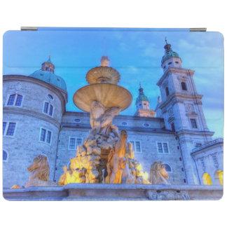 Residenzplatz in Salzburg, Austria iPad Cover