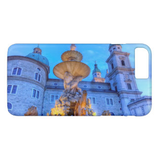 Residenzplatz in Salzburg, Austria iPhone 7 Plus Case