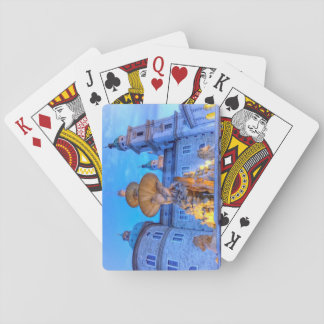 Residenzplatz in Salzburg, Austria Playing Cards
