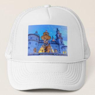 Residenzplatz in Salzburg, Austria Trucker Hat