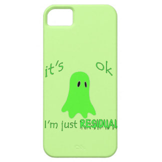 Residual Haunting - Green Ghost iPhone 5 Cases