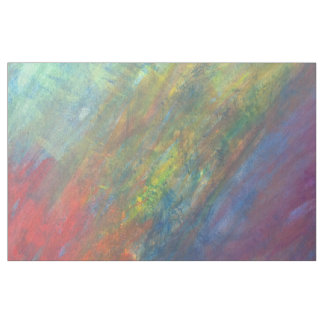 Resilient Craft | Modern Colorful Rainbow Abstract Fabric