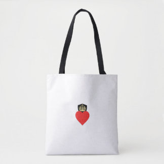 Resilient Heart Tote Bag