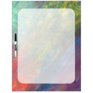 Resilient ROYGBIV Rainbow Abstract Trendy Dry Erase Boards