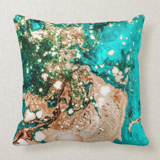 Resin Obsession Throw Pillow