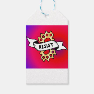 RESIST22 PACK OF GIFT TAGS
