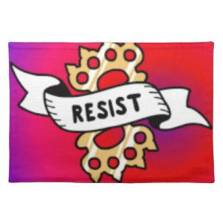 RESIST22 PLACEMAT