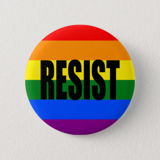 """RESIST"" 2 INCH ROUND BUTTON"
