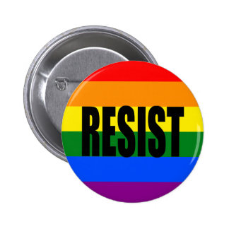 """""""RESIST"""" 2 INCH ROUND BUTTON"""