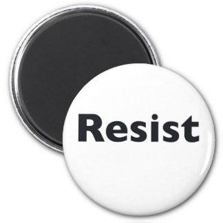 Resist 2 Inch Round Magnet