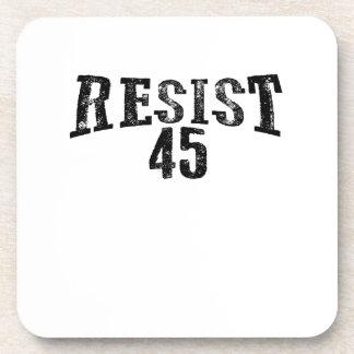 Resist 45 Trump Protest Coaster