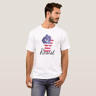 Resist American Flag Democrat Anti Trump Shirt