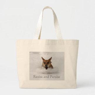 Resist and Persist Tote Bag