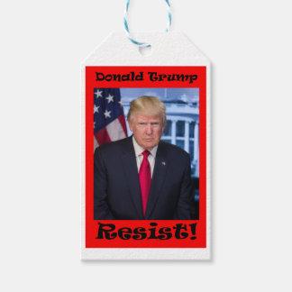 Resist - Anti Trump Pack Of Gift Tags