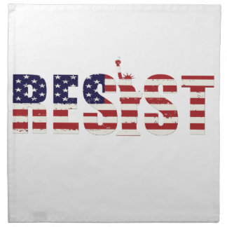 Resist Anti-Trump Resistance Freedom Napkin