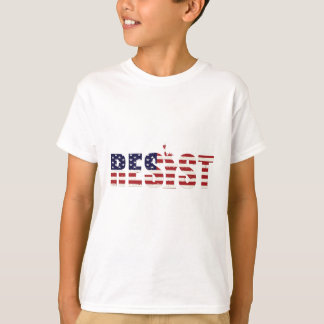 Resist Anti-Trump Resistance Freedom T-Shirt