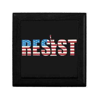 Resist Anti Trump Resistance Persist 2 Gift Box